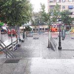 Puertollano: Granizada y aviso amarillo por posibilidad tormentas a lo largo de la jornada
