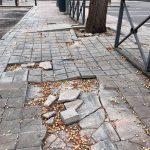 Ciudad Real: El PP denuncia el estado del acerado de la calle Juan Ramón Jiménez