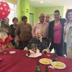La alcaldesa de Puertollano felicita a Juana Fernández en su105 cumpleaños