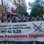 Puertollano: En la brega por un sistema de pensiones digno y sostenible