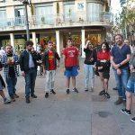 Izquierda Unida conmemora con una concentración el Día Internacional contra la LTGBIfobia