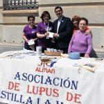 La Diputación colabora en la cuestación anual contra el lupus
