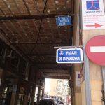 """""""Nos vemos en el pasaje de la Pandorga"""": Instaladas las placas con las nuevas denominaciones en las calles afectadas por la Ley de Memoria Histórica"""