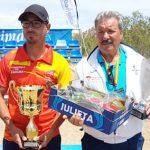El miguelturreño José David Fernández, campeón de España de petanca