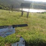 Lamentable estado de los paneles informativos de la Laguna de La Posadilla