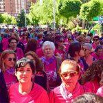 Puertollano:Una marea rosa al ritmo de zumba en la Carrera de la Mujer