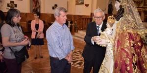 Fieles visitan a la Virgen de Gracia durante las fiestas del Santo Voto.