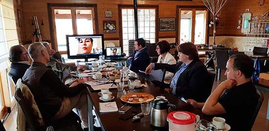 Agustin Espinosa presentacion proyecto Starlight Valle de Alcudia