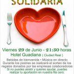 Cena solidaria a beneficio de la AECC de Ciudad Real