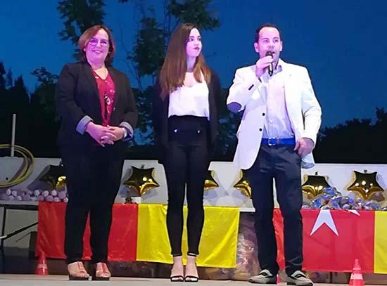 Carmen Olmedo en I Gala del Deporte de Herencia