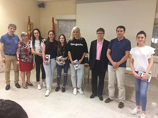 Jurado + ganadoras Bachillerato