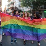 Marcha por el orgullo LGTBI en Miguelturra