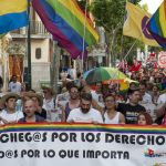 La marcha del Orgullo LGTBI llena de color Ciudad Real