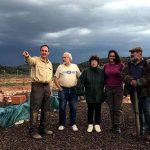 El equipo de Antropología Forense de Medicina Legal de la Complutense visita los yacimientos arqueológicos de Terrinches