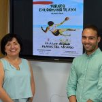 Las Playas del Vicario acogen este fin de semana un torneo regional de balonmano playa