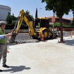 Ciudad Real: Las obras en Camino Viejo de Alarcos dejarán calles más anchas y accesibles