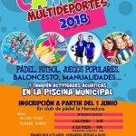Almodóvar del Campo: El lunes comienza una nueva edición del Campus Multideportivo dirigido a menores de 4 a 14 años