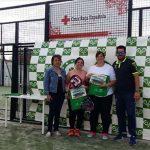 Almodóvar del Campo: Cruz Roja vuelve a ser beneficiaria de un torneo de pádel solidario que vale su peso en oro