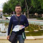 Carlos Morena, vendedor de la ONCE de Almodóvar del Campo, reparte 175.000 euros en el sorteo del Cuponazo
