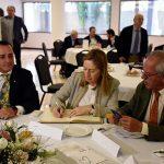 El Club Rotario de Ciudad Real celebra la I Rueda Solidaria con la presencia de la presidenta del Congreso, Ana Pastor