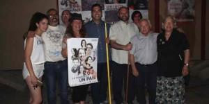 Podemos e IU Puertollano en 2016, durante la campaña electoral del 26-J