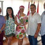 Pilar Zamora agradece a los Amigos de Javier Segovia que sigan reivindicando y homenajeando su figura