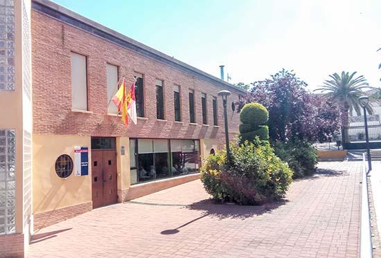Centro de Mayores de Almodóvar del Campo, gestionado por la Consejería de Bienestar Social
