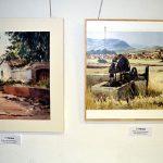 "Pablo Rubén López Sanz gana el primer Certamen de pintura rápida ""Duque de la Victoria"" de Granátula de Calatrava"
