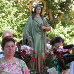La Poblachuela disfruta de un domingo dedicado a Santa María Magdalena
