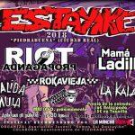 El 12º Festival Estayike 2018 de Piedrabuena acogerá a destacadas figuras del punk-rock nacional este sábado 21