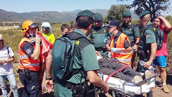 Proteccion Civil busqueda desaparicion Navas de Estena 2