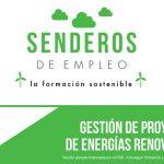 """Abierto el plazo de inscripción para los cursos gratuitos del Impefe de """"Gestión de proyectos de energías renovables"""" y """"Mejora de la eficiencia energética de edificios"""""""
