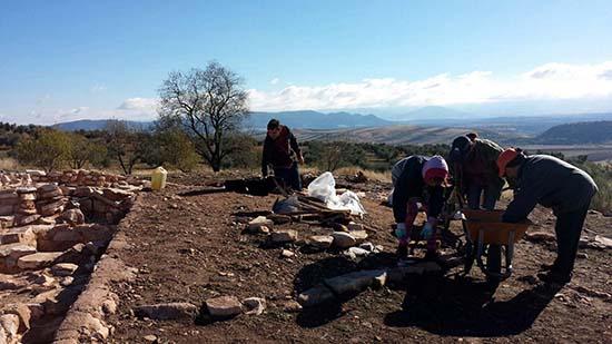 Terrinches_Excavaciones Castillejo Bonete2016