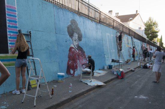 arte urbano laguna de la posadilla - 8