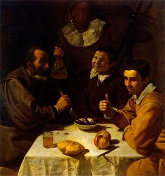 El almuerzo, Velázquez