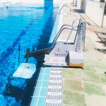 La piscina María Luisa Cabañero, más accesible con un nuevo elevador