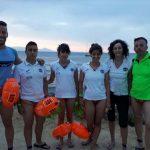 Gran actuación de los nadadores del Club Natación Puertollano en la XXIII travesía a nado Santa Pola-Tabarca