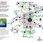 Se inventan un «MetroMinuto» de Puertollano para calcular las distancias y tiempos a pie en la ciudad