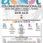 Villarrubia de los Ojos ofrece del 20 al 26 de julio unas novedosas Colonias Internacionales de Arte, Música, Cine, danza y Teatro