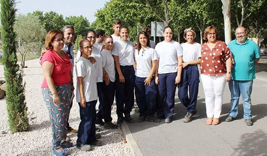 Carmen Olmedo en visita a alumn@s 'Orienta2'