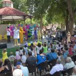 Gran fiesta musical en el Prado