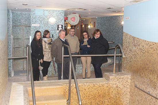 Imagen-de-archivo-de-Carmen-Olmedo-en-su-visita-al-Balneario-de-Fuencaliente-