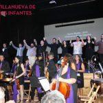 Villanueva de los Infantes: Ovación del público para la OFMAN y el elenco de La Bohème