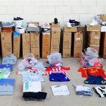 Detenido por vender material falsificado, valorado en 42.000 euros, en Tomelloso