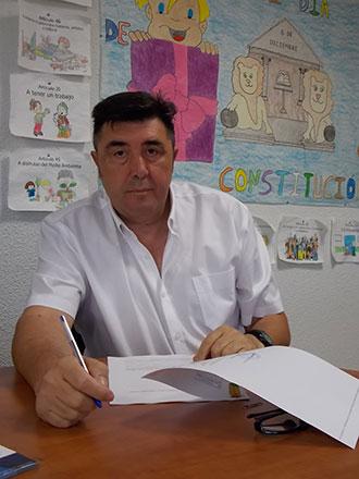 Antonio López, teniente de alcalde agredido