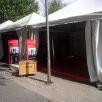Ciudad Real: Más carpas, ahora en la Plaza del Pilar