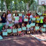 Cerca de un centenar de niños disfrutaron en julio de la Escuela de Verano Multiactiva de Carrión de Calatrava, que sigue en agosto