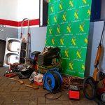 La Guardia Civil detiene a dos personas por varios robos en Fontanosas