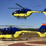 El Servicio de Transporte Sanitario Aéreo del SESCAM cierra los siete primeros meses de este año con más de 1.200 activaciones