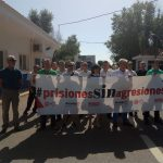 Protestas a las puertas de los Centros penitenciarios de la provincia de Ciudad Real por las agresiones del personal penitenciario
